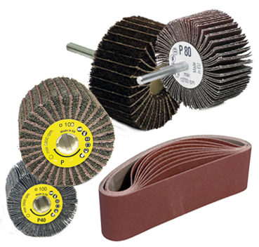 ABRASIVE belts & FLAP wheels