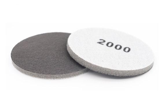 Polishing fabric foam disc