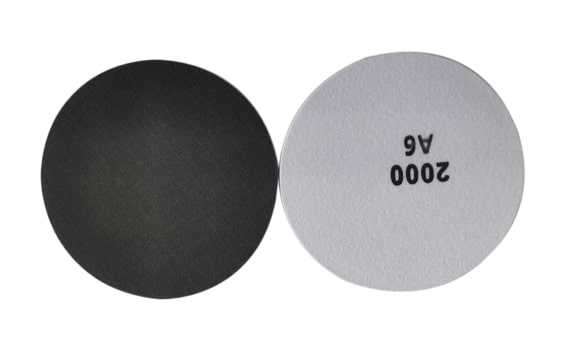 Velcro discs in soft grits with 3-dimensional abrasive