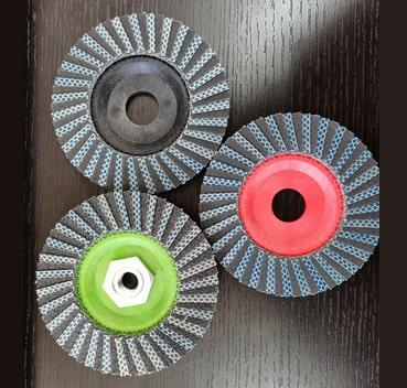 Diamond flap discs